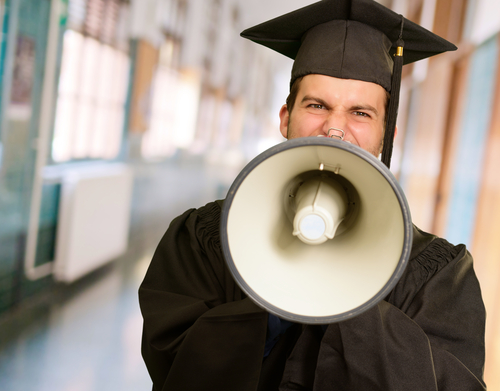 Your graduation speech will make people applause